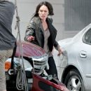 "Lena Headey - On The Set Of ""The Sarah Connor Chronicles"""