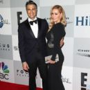 Jaime Camil and Heidi Balvanera at the InStyle And Warner Bros. Golden Globes 2015 Party