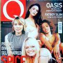 Spice Girls, Melanie Chisholm, Melanie Brown, Victoria Beckham, Emma Bunton - Q Magazine Cover [Russia] (December 2000)