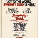 Poster of SWEENEY TODD 1979 Stephen Sondheim - 454 x 716