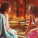 Melody Anderson as Dale Arden and Ornella Muti as Princess Aura in Universal Pictures' Flash Gordon.