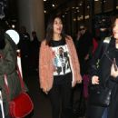 Victoria Justice arrives at LAX in Los Angeles