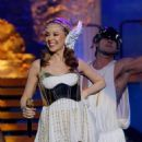 Kylie Minogue performs - the 'Aphrodite Les Folies Tour' - the O2 World Arena in Hamburg, 28.02.2011