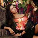 Adriana Lima for Desigual Fall/Winter 2014 ad campaign