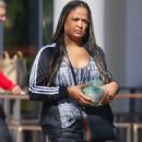 Laila Ali – Shopping candids in Los Angeles - 454 x 672