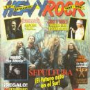 Heavy Rock Magazine Cover [Spain] (January 1994)