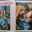 Patrick Swayze - Cine Tele Revue Magazine Pictorial [France] (3 October 1985)