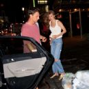 Gigi Hadid – Spotted at dinner at La Esquina in NY
