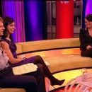 Adrian Chiles, Christine Bleakley & Martine McCutcheon on The ONE Show - 454 x 255