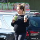 Hilary Duff and Matthew Koma at Whole Foods in Los Angeles