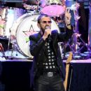 Ringo Starr performs during the Ringo Starr and his All Starr Band concert at The Greek Theatre on September 01, 2019 in Los Angeles, California - 454 x 518