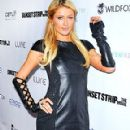 Paris Hilton: a Hollywood party at Lure for Sunset Strip