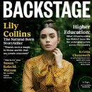 Lily Collins – Backstage Magazine 2020