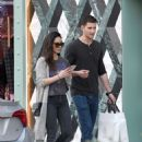 Olivia Munn with boyfriend – Shopping in Los Angeles