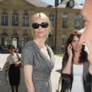 Claudia Schiffer - Jun 30 2008 - Dior '09 Spring Summer Haute Couture Fashion Show In Paris