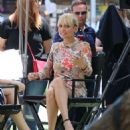 Nicole Richie On The Set Of Candidly Nicole In Los Angeles