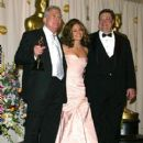 Randy Newman, Jennifer Lopez and John Goodman - The 74th Annual Academy Awards - Pressroom (2002)