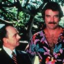 John Hillerman and Tom Selleck in Magnum P.I.