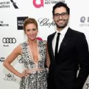 Actor Tyler Hoechlin attends the 23rd Annual Elton John AIDS Foundation's Oscar Viewing Party on February 22, 2015 in West Hollywood, California - 426 x 600