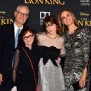 Zooey Deschanel – 'The Lion King' Premiere in Hollywood - 454 x 315