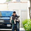 Joe Jonas Out With His Dog, Winston (March 25)