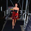 Emily Ratajkowski Deboarding Karl Lagerfeld Cruise In Ny