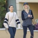 Danielle Campbell With a friend out in West Hollywood