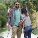 Ana de Armas and Ben Affleck – are seen in a morning walk in Venice