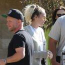 Miley and Noah Cyrus at Soho Beach House - 454 x 679