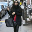 Famke Janssen – Out and about in New York City