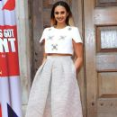 Alesha Dixon wears Tibi - 'Britain's Got Talent' photo call - 385 x 594