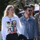 Sophie Turner and Joe Jonas out in West Hollywood January 20, 2017