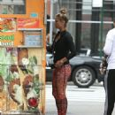 Nina Agdal Street Style – Out in NYC 09/28/2016 - 454 x 525