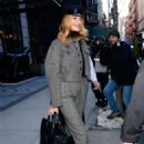 Rosie Huntington Whiteley – Leaves her hotel in NYC - 454 x 689