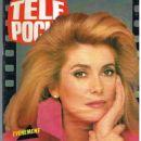 Catherine Deneuve - Tele Poche Magazine Cover [France] (19 November 1990)