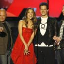 Michael Chiklis, Jessica Alba, Ioan Gruffudd and Chris Evans during The 2007 MTV Movie Awards - 454 x 303