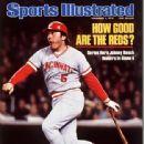 Johnny Bench - Sports Illustrated Magazine Cover [United States] (1 November 1976)