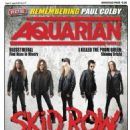 Johnny Solinger, Dave 'The Snake' Sabo, Rachel Bolan, Scotti Hill - The Aquarian Weekly Magazine Cover [United States] (13 August 2014)