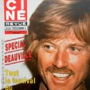 Robert Redford - Cine Revue Magazine Cover [France] (25 August 1984)