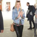 Laura Whitmore At Bbc Studios In London