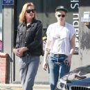 Kristen Stewart and Stella Maxwell – Seen together in LA