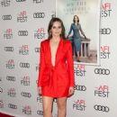 Felicity Jones – AFI Fest 2018 'On the Basis of Sex' Opening Night Premiere in LA - 454 x 615