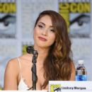Lindsey Morgan – Comic-Con International in San Diego 07/21/2017 - 454 x 562