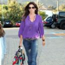 Cindy Crawford at the Malibu Country Mart