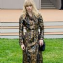Suki Waterhouse arrives to attend Burberry Prorsum Menswear Spring /Summer 2014 Collection in London