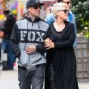 Singer Pink and her husband Carey Hart out shopping in New York City, New York on April 27, 2014