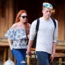Lindsay Lohan in Jeans with friend out in New York City - 454 x 566
