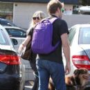 Amanda Seyfried Out For Lunch With Friends And Her Dog