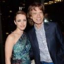 Rachel McAdams and Mick Jagger attend Lionsgate and Roadside Attraction's premiere of 'A Most Wanted Man' hosted by The Cinema Society and Montblanc at Skylark on July 22, 2014 in New York City