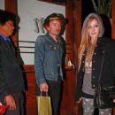 Avril Lavigne & Deryck Whibley: LA Dinner Date